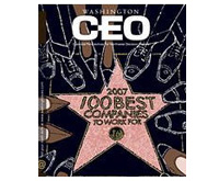 Washington CEO Magazine, 100 Best Companies to Work For