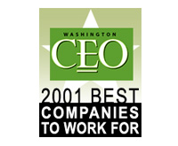 Washington CEO Magazine, Best Companies to Work For