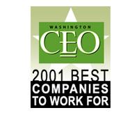 Washington CEO Magazine, Best Companies to Work For