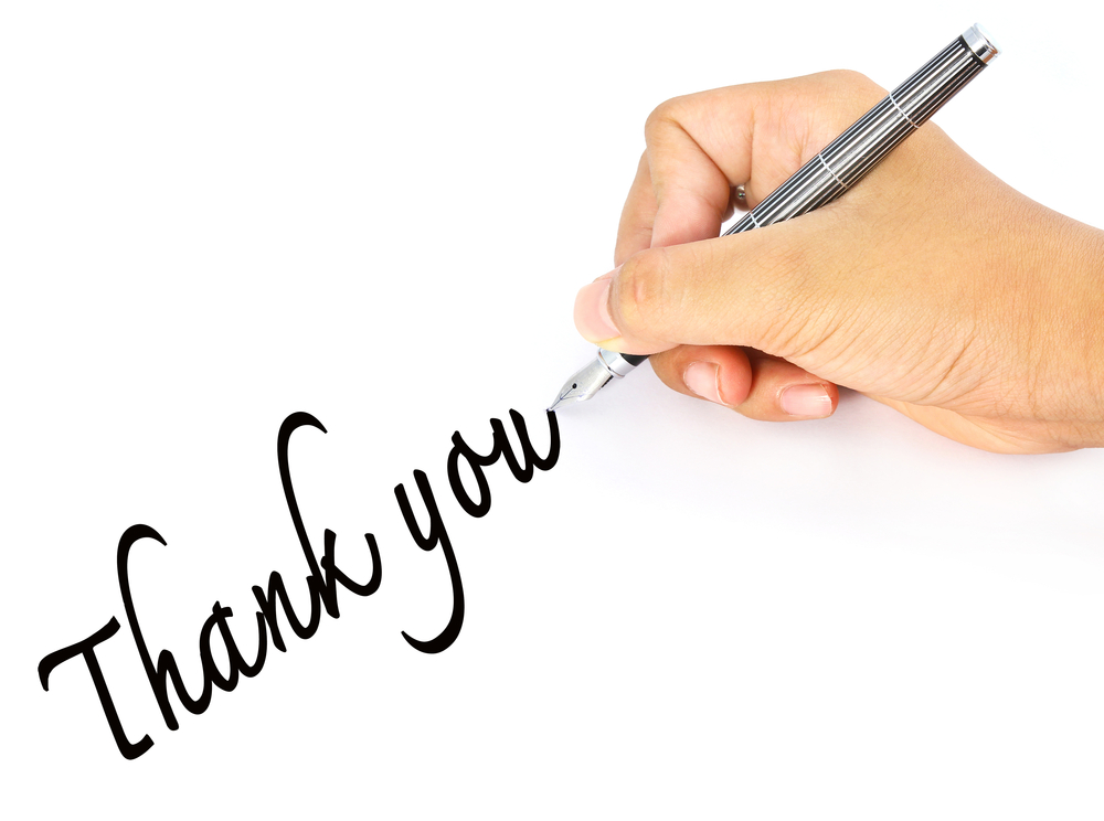 Does It Really Matter If I Write A Thank-You Note After An