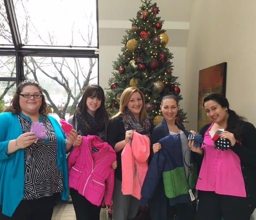 The Beaverton Team (L-R: Crystal, Mandy, Mary, Sheliya, and Brianna)
