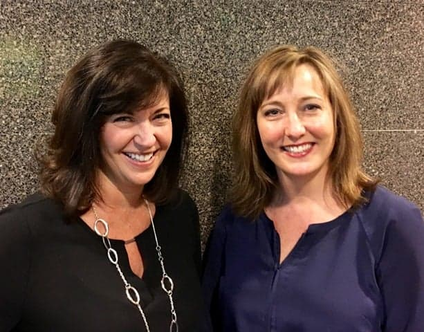 The newly promoted Patty(L) and Sue(R)!