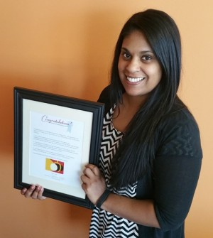 Meet TERRA's award-winning Benefits Coordinator, Lindsey Jones!
