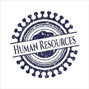 HR/ Human Resources Seal
