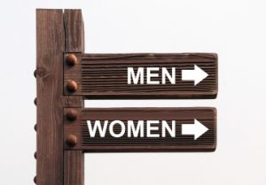 sign promoting gender equality