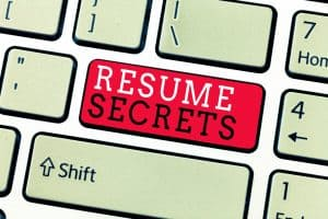 resume secrets - how to get your manufacturing resume noticed