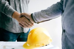 handshake after manufacturing interview