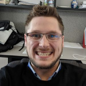 Broc Nyblod, TERRA Success Story, loves that his new job allows him to make an impact.