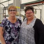 TERRA Success Story Dawn Wyatt with TERRA On-Site Supervisor Teresa McGowan