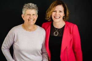 Photo of Susan Clarke and CrisMarie Campbell