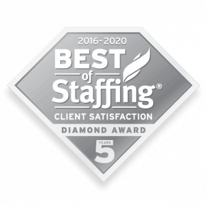 2020 best of staffing client diamond award