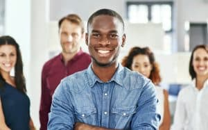 Image of smiling Job Seekers