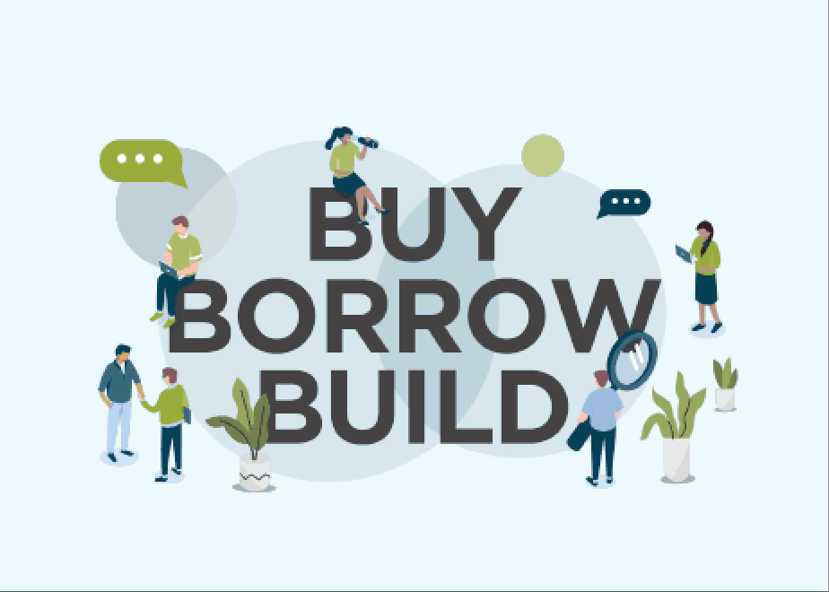 Buy Borrow Build